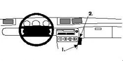 Fixation voiture Proclip  Brodit Ford Windstar Réf 852301