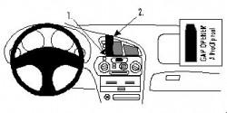 Fixation voiture Proclip  Brodit Mitsubishi Colt Réf 852306