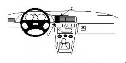 Fixation voiture Proclip  Brodit Audi A3 Réf 852333