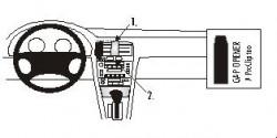 Fixation voiture Proclip  Brodit Lexus ES Series Réf 852385