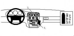 Fixation voiture Proclip  Brodit Volvo S40 Réf 852406
