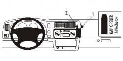 Fixation voiture Proclip  Brodit Mitsubishi L200 Réf 852415