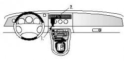 Fixation voiture Proclip  Brodit Jaguar XK8 / XKR Réf 852429