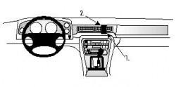 Fixation voiture Proclip  Brodit Daimler 4.0 Réf 852432