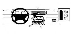 Fixation voiture Proclip  Brodit Honda CR-V Réf 852455