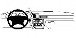 Fixation voiture Proclip  Brodit Chevrolet Malibu Réf 852457