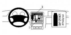 Fixation voiture Proclip  Brodit Nissan Maxima Réf 852464