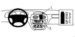 Fixation voiture Proclip  Brodit Renault Megane Réf 852480
