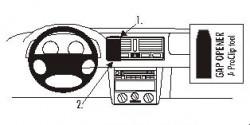 Fixation voiture Proclip  Brodit Volkswagen Golf Réf 852526