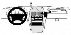Fixation voiture Proclip  Brodit Daewoo Korando Réf 852527