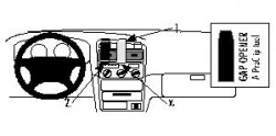 Fixation voiture Proclip  Brodit Toyota Avensis Réf 852535