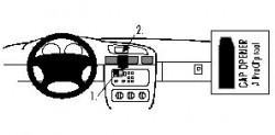 Fixation voiture Proclip  Brodit Pontiac Grand Prix Réf 852559