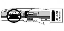 Fixation voiture Proclip  Brodit Lincoln Town Car Réf 852566