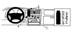 Fixation voiture Proclip  Brodit Toyota HiLux Réf 852594