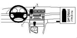 Fixation voiture Proclip  Brodit BMW 316-330/M3 E46 Réf 852599