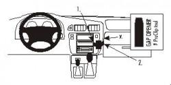 Fixation voiture Proclip  Brodit Nissan Patrol  SEULEMENT pour GR Y61. Réf 852603