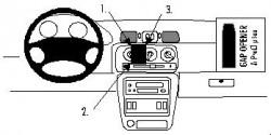 Fixation voiture Proclip  Brodit Nissan Micra  UNIQUEMENT pour K11. Réf 852604
