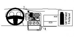 Fixation voiture Proclip  Brodit Seat Arosa  Uniquement pour le modèle de Sedan. Réf 852605