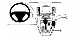 Fixation voiture Proclip  Brodit Lexus RX Series Réf 852614