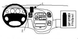Fixation voiture Proclip  Brodit Hyundai H1 Réf 852625