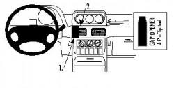 Fixation voiture Proclip  Brodit Galloper Exceed Réf 852635