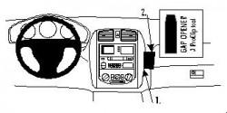 Fixation voiture Proclip  Brodit Mazda 323 F (BJ) Réf 852642
