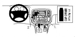 Fixation voiture Proclip  Brodit Toyota LandCruiser Réf 852643