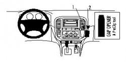 Fixation voiture Proclip  Brodit Toyota LandCruiser Réf 852644