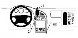 Fixation voiture Proclip  Brodit Kia Sephia Réf 852646