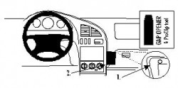 Fixation voiture Proclip  Brodit Kia Sephia Réf 852647