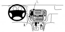 Fixation voiture Proclip  Brodit Lexus LX Series Réf 852663