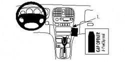 Fixation voiture Proclip  Brodit Hyundai Sonata Réf 852678