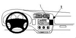 Fixation voiture Proclip  Brodit Chevrolet Blazer S10 Réf 852679