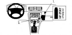 Fixation voiture Proclip  Brodit Skoda Octavia I Réf 852684