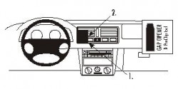 Fixation voiture Proclip  Brodit Volkswagen Bora Réf 852692