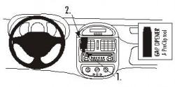 Fixation voiture Proclip  Brodit Renault Clio I Réf 852695