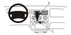 Fixation voiture Proclip  Brodit Honda Logo Réf 852697