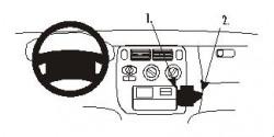 Fixation voiture Proclip  Brodit Honda HR-V Réf 852698