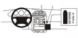 Fixation voiture Proclip  Brodit Kia Sportage Réf 852709
