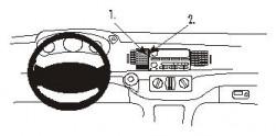 Fixation voiture Proclip  Brodit Chevrolet Impala Réf 852710