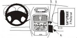 Fixation voiture Proclip  Brodit Mitsubishi Carisma Réf 852712