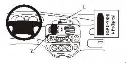 Fixation voiture Proclip  Brodit Renault Megane  MÃ © gane: pas de modèles avec option GPS d'origine. Réf 852719