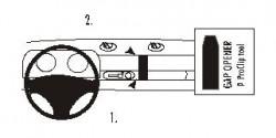 Fixation voiture Proclip  Brodit Lotus Elise S1 Réf 852723