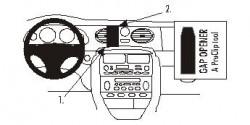 Fixation voiture Proclip  Brodit MG ZT Réf 852725