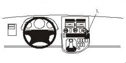 Fixation voiture Proclip  Brodit Mercedes Benz V-Class Réf 852729