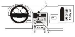 Fixation voiture Proclip  Brodit Lexus LS Series Réf 852748