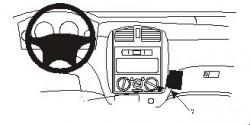 Fixation voiture Proclip  Brodit Mazda Premacy Réf 852754