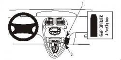 Fixation voiture Proclip  Brodit Citroen Xsara Picasso Réf 852762