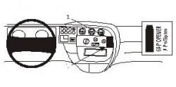 Fixation voiture Proclip  Brodit Iveco Daily Réf 852764