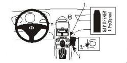 Fixation voiture Proclip  Brodit Toyota Celica Réf 852765